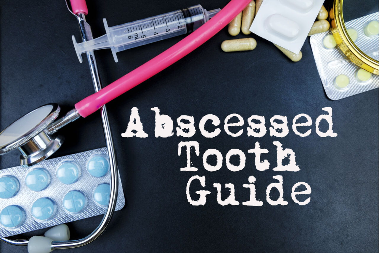 how to drain a tooth abscess at home