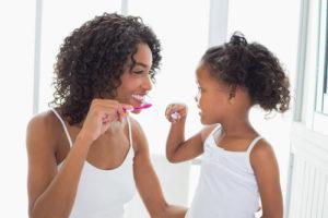 dental health brushing