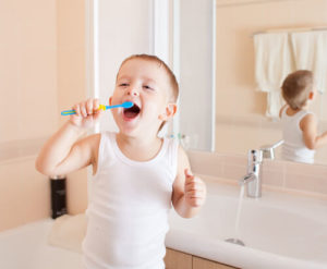 dental health while young